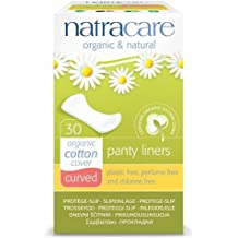Natracare Panty Liners - Curved - 30