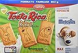 Tosta Rica Fibra Caja De Galletas - Paquete  - Total: 860 gr - [Pack de 3]