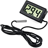 TRIXES Nuevo mini termómetro digital con monitor LCD para neveras o congeladores