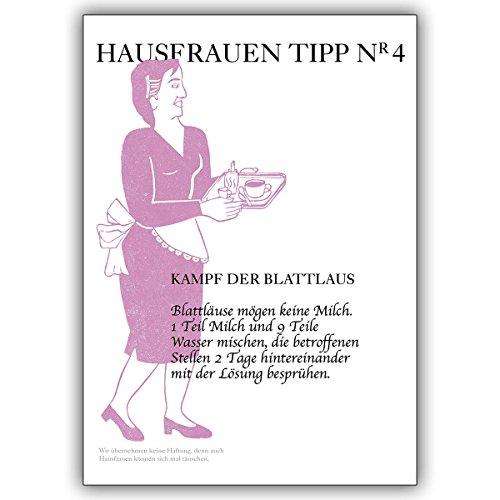 16-ratgeber-karten-16er-set-hilfreiche-karte-fur-die-hausfrau-tipp-nr-4-blattlause