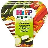 Hipp Organique Saine Légumes Et Poulet Risotto 1-3 Ans 230G