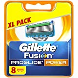 Gillette Fusion ProGlide Power  Rasierklingen, 8 Stück, briefkastenfähige Verpackung