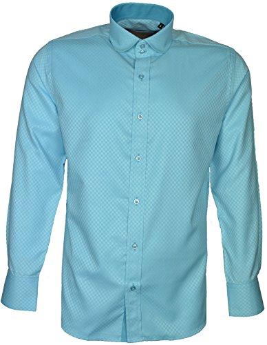 Dontali -  Camicia Casual  - Uomo Azzurro