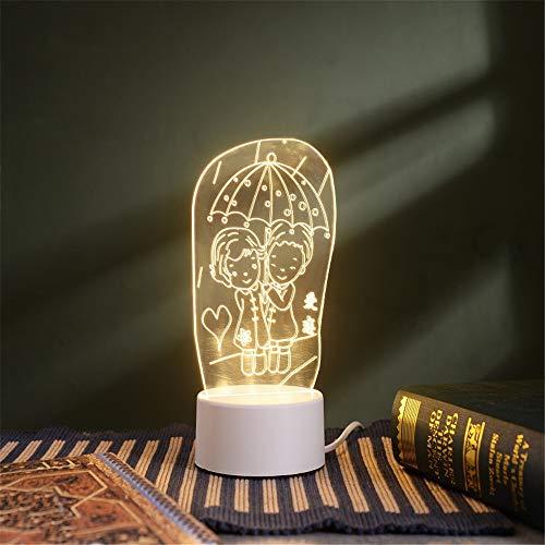 Luz De Noche - Mini Lámpara De Mesa - Luz De Noche...