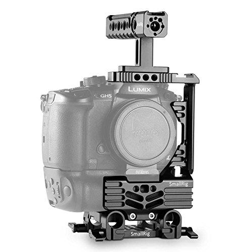 SMALLRIG Halb Cage Kit für Panasonic Lumix GH5 mit Batteriegriff-2025 -