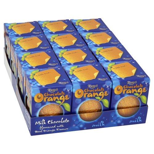Preisvergleich Produktbild Terrys Milchschokolade Orange 175 g (Packung von 12)