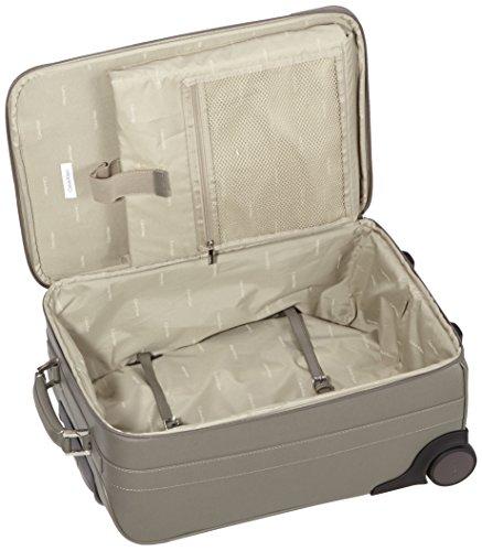 51I EzBcGyL - Calvin Klein  Trolley para portátiles, 55 cm, 44 L, Gris