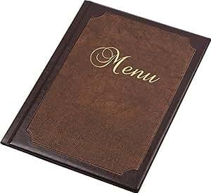 Support Menu Taille A412Pages Restaurant Pub Hôtel Affichage cattering Table
