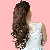ragazza parrucca/ capelli lunghi di coda di cavallo di stile