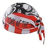 X-Labor Top Bandana Cap Atmungsaktiv Kopftuch Bikertuch UV Schutz Fahrrad Erwachsene Radsport Motorrad Kopfbedeckung Motiv-A