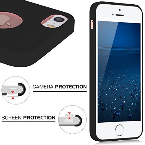 iPhone 7 Silikon hülle, Bestsky Stoßfest Anti-Fingerabdruck Anti-Scratch Bumper Cover Fein Matt Feder Leicht Handy Tasche Schutzhülle für iPhone 7, Kaffee Hellgrün