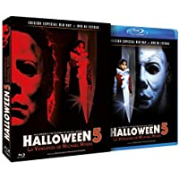 Halloween 5- La Venganza de Michael Myers BD + DVD Extras 1989  Halloween 5: The Revenge of Michael Myers