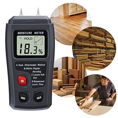 Feuchtigkeit Meter Werkzeuge 0-99.9% Digital Holz Feuchtigkeit Meter Holz Feuchtigkeit Tester Baum Damp Detector Feuchtigkeit Tester
