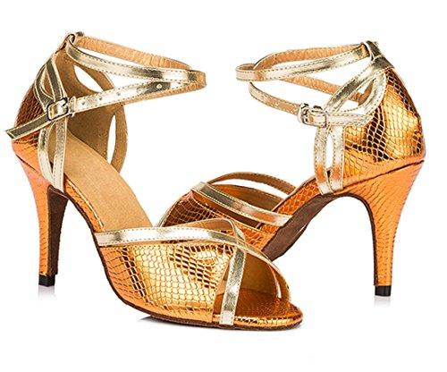 TDA - Peep-Toe donna 8.5cm Heel Orange