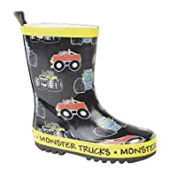 StormWells Childrens/Kids Monster Trucks Wellington Boots