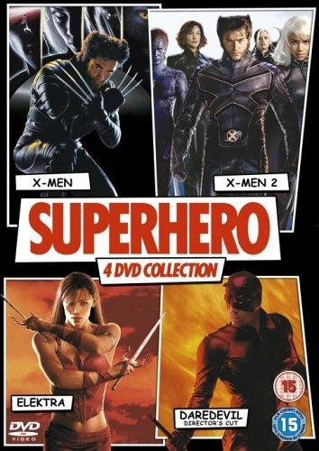 -Men 2 / Elektra / Daredevil [DVD] by Hugh Jackman (Xmen Superheroes)