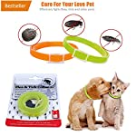 handfly flea and tick collar for small, medium and large dogs & cats waterproof dog collar kills insect eggs 40/60cm Handfly flea and tick collar for small, medium and large dogs & cats waterproof dog collar kills insect eggs 40/60cm 51I JDGucOL
