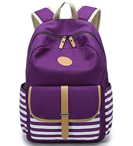 Fashion College Daypack And Girls Boys School Bookbag Travel For Canvas Backpack Laptop AR4jL5