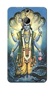 CimaCase Lord Vishnu Designer 3D Printed Case Cover For HTC One M8