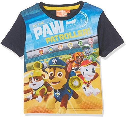 nickelodeon-paw-patrol-puppies-t-shirt-garcon-bleu-4-ans