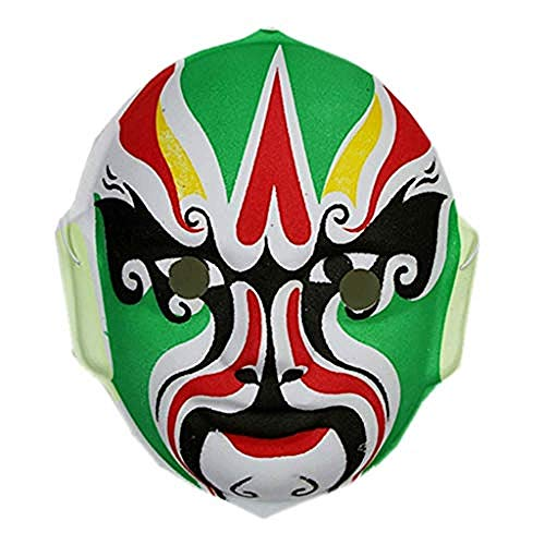 Face Zwei Kostüm Kids - Lxdzgm Halloween Ball Hand-Painted Chinese Peking Opera Mask Faces Children Peking Opera Mask Mask Decoration (Color : A*2)