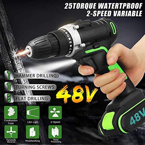 Fish 48V Cordless Electric Drill Hammer