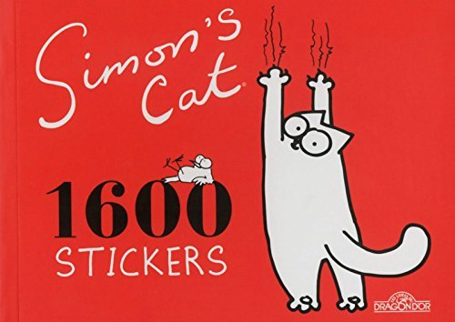 Simon's cat : 1 600 stickers by Dragon d'or (2014-06-19)
