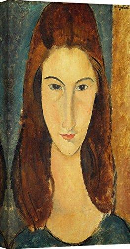 Amedeo Modigliani Kunstdruck (Art Print CAFÉ - Kunstdruck auf Leinwand - Amedeo Modigliani, Jeanne Hebuterne - 120x60 cm)