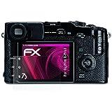 Fujifilm X-Pro1 Verre film protecteur - atFoliX FX-Hybrid-Glass à revêtement dur élastique 9H Protecteur de verre en plastique