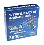 STAHLFUCHS Heißluftpistole 2000 Watt Heißluftfön