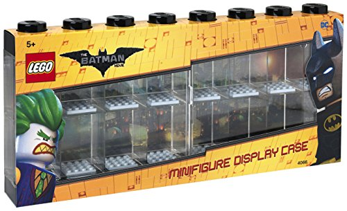 LEGO Minifigure 16 Compartment Display Case, Black