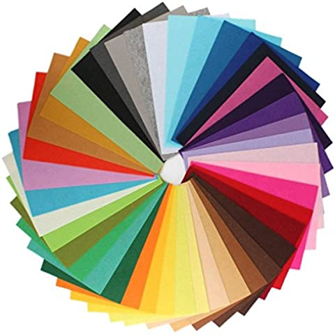 westeng Mix 42colori poliestere tessuto foglio Patchwork