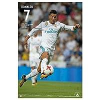 Grupo Erik editores gpe5183-Poster 2017/2018with Design Real Madrid Ronaldo, 61x 91.5cm