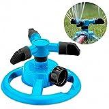 Lsgepavilion Cour Jardin Rotation à 360° Gazon Arroseur Automatique de l'eau d'irrigation pour 334,5m², Bleu, Taille Unique...
