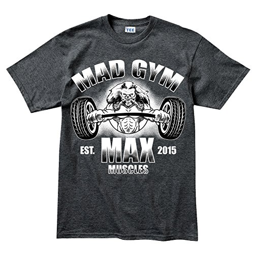 Gold Max Gym Muscle Fitness Sports Training Running T shirt