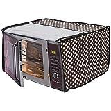 Stylista Microwave Oven Cover for Bajaj 17 L Solo 1701 MT, Polka dot Pattern