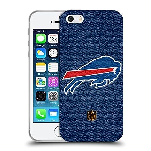 Official NFL Football Buffalo Bills Logo Soft Gel Case for Apple iPhone 5 / 5s / SE
