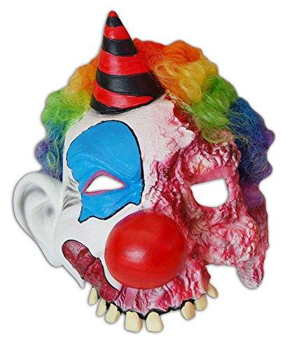 Halloween Maske Horror Clown - Latexmaske zum Kostüm
