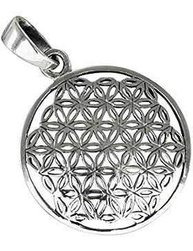 Blume des Lebens, Anhänger aus 925-Silber