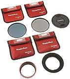 Fotodiox WonderPana - Kit fotografico a densità neutra - porta filtro da 145 mm, copriobiettivo, filtri ND16 e ND32 per obiettivi Nikon 14-24mm AF-S Zoom Nikkor f/2.8G ED AF