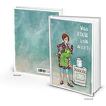 Divertido XXL libro de recetas en DIN A4 para escribir 164 páginas en blanco vacías de