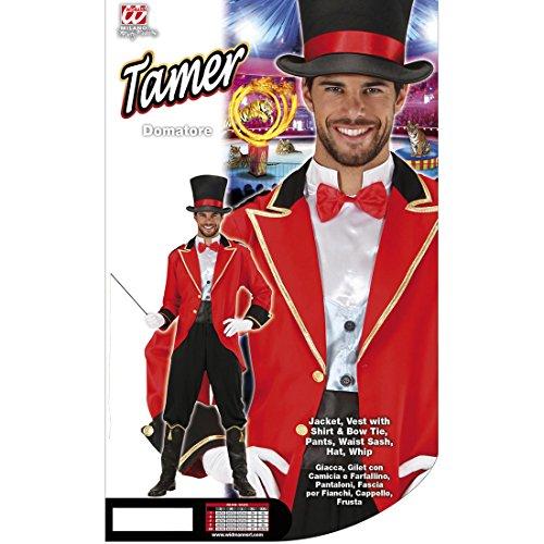 Dompteur Zirkuskostüm Zirkus Herrenkostüm L 52 Zirkusuniform Artistenkostüm Zirkusdirektor Kostüm Karnevalskostüm Männer Faschingskostüm Löwenbändiger Jahrmarkt Herren Uniform