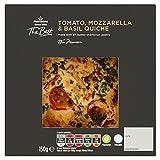 Morrisons The Best Tomato Mozzarella and Basil Quiche, 150 g