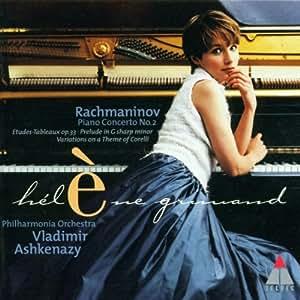Rachmaninov : Concerto pour piano n°2, Prélude op.32 n°12; Etudes-Tableaux op.33
