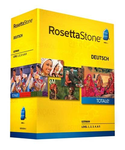 Rosetta Stone Version 4 TOTALe: German Level 1, 2, 3, 4 &...