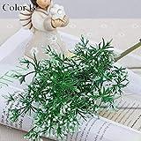 YABMF 1 Stücke Europäischen Obstpflanze Künstliche Blumen Bouquet Home Hochzeit Dekorative Floristik 4 Farben @ Color_B
