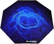 سجادة ناعمة اركتيك لحماية الارضية عند ممارسة الالعاب الرياضية الالكترونية من فلورباد، لون ازرق 100 × 100 سم