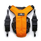 Sleepypod Clickit UTILITY Auto-Sicherheitsgurt Orange Dream Extra Small für ISOFIX-Kindersitzbefestigungs-System