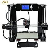 VBESTLIFE Anet A6 3D Imprimante DIY, Kit d'Impression Matériaux LCD Filament En Aluminium Structure Imprimante 3D de Bureau LCD Filament - Noir.(noir)