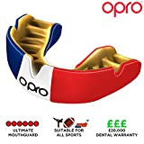 Opro Power-Fit Sports Mouthguard Unisex, France, Adulte